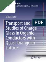 Fenômenos de transportes em condutores orgânicos