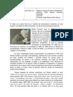 La Vida de Michel Foucault Parte I y II