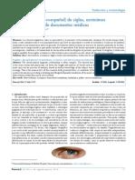 Glosario (inglés<>español) de siglas, acrónimos  y abreviaturas de documentos médicos Esther Vázquez y del Árbol*