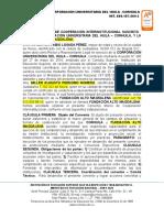 Convenio Fundación Alto Magdalena
