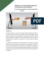 Análisis de Las Coments de Clientes Mediante Minería de Texto