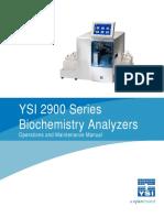 YSI 2900 Series Manual