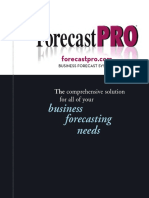Forecast Pro TRAC V5 User's Guide