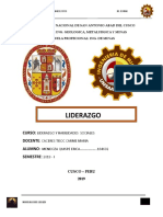 LIDERAZGO monografia