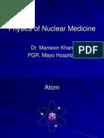 Physics of Nuclear Medicine