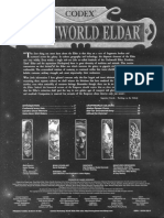Warhammer 40k - Codex - Craftworld Eldar
