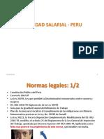 Ley de Igualdad Salarial Peru