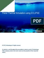Petrel Thermal Simulation Workflow