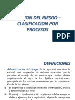 Presentación Clasificación Riesgo