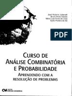 Curso de Análise Combinatória e Probabilidade