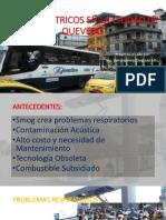 Proyecto de buses eléctricos para pequeñas ciudades