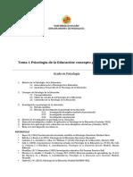Tema 1 de Educación