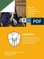 Manual Único de Rendición de Cuentas - Versión 2. Capítulo I - Rama Ejecutiva - Febrero de 2019