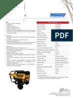 Generador Winco - Ficha técnica