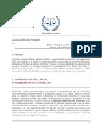 Lecciones de Derecho Probatorio