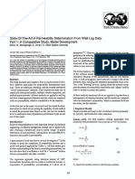 Permeability Determination From Well Log Data