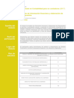 Analisis Informacion Financiera Elaboracion Presupuestos