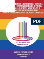 IV Simpósio de Gênero e Sexualidade - Gêneros, Sexualidades e Conservadorismos