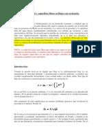 Efecto de la gravedad y superficies libres en flujos con cavitación