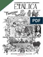 POETALICA 8 FANZINE (Mayo 2019)