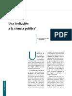 Una Invitación a La Ciencia Política - María Teresa Uribe