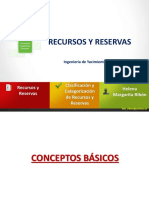 Recursos y Reservas