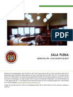 Cartilla Sala Plena 14 de Agosto de 2019