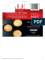 Marks & Spencer Coffee 1