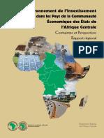 Afrique Centrale - Environnement de l'investissement privé - Rapport régional