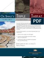 Oil Shale's Triple Threat