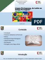A Origem Da Língua Portuguesa, Do Latim Ao Galego-Português.1