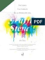 Factores culturales de la aparición del graffiti stencil en Cali -  Alex Velasco