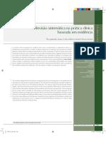 A Revisão Sistemática Na Prática Clínica