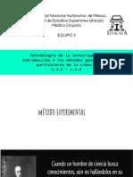 Metodología de la investigación 1.3.5 - 1.3.8
