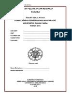 Format Laporan Pelaksanaan Kegiatan (LPK) Individu UGM