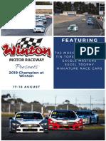 Champion of Winton Program 2019
