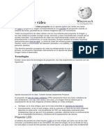 [1]Proyector de Video o Multimedia - Wikipedia