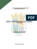 Dinámica poblacional Miraflores Boyacá