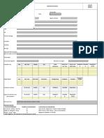 FAU 105 Registro de Booking