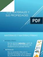 materiales y propiedades