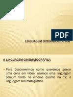 linguagem cinematografica atual