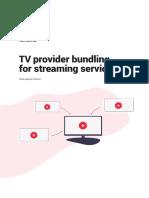 2019 08 13 White Paper Tv Provider Bundling for Streaming Services
