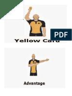 Football Hand Signals