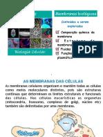 Aula 8 membranas biológicas