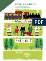 Libro Menu de Chile 2018