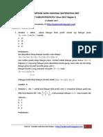 soal dan solusi OSN Matematika SMP 2007