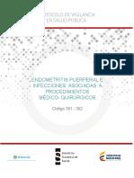 PRO Infecciones Asociadas a Procedimientos Medico-quirurgicos