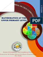 Module Mathematics Upper training