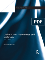Michele Acuto - Global Cities, Governance and Diplomacy