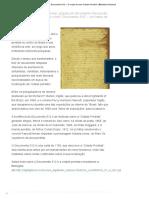 """Documento 512 – """"O Mapa de Uma Cidade Perdida"""" _ Biblioteca Nacional"""